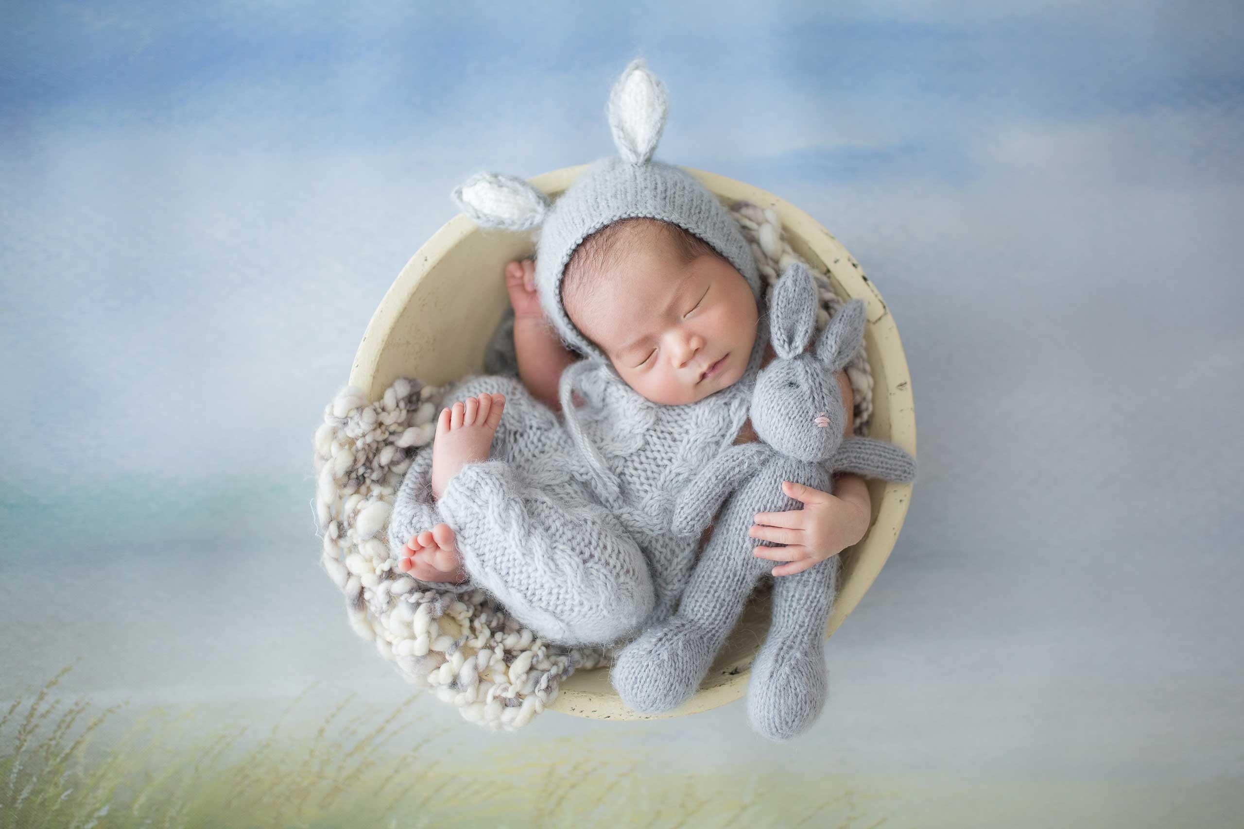 Newborn baby photography los angeles ramina magid