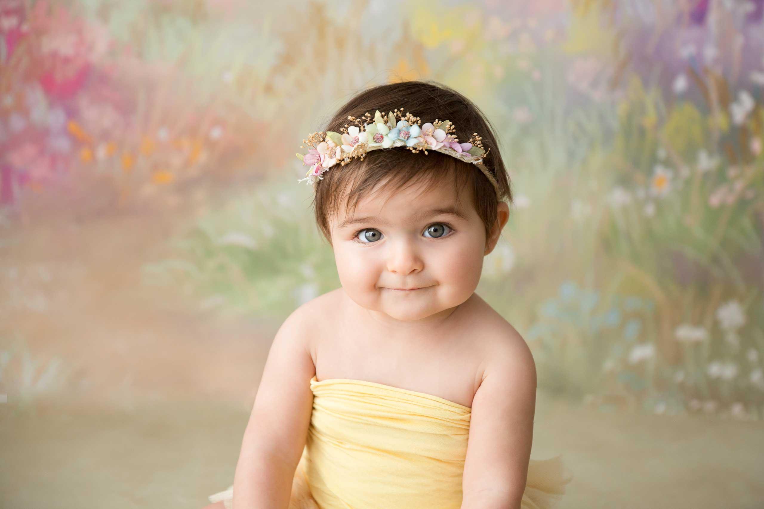 baby sitter photoshoot los angeles ramina magid