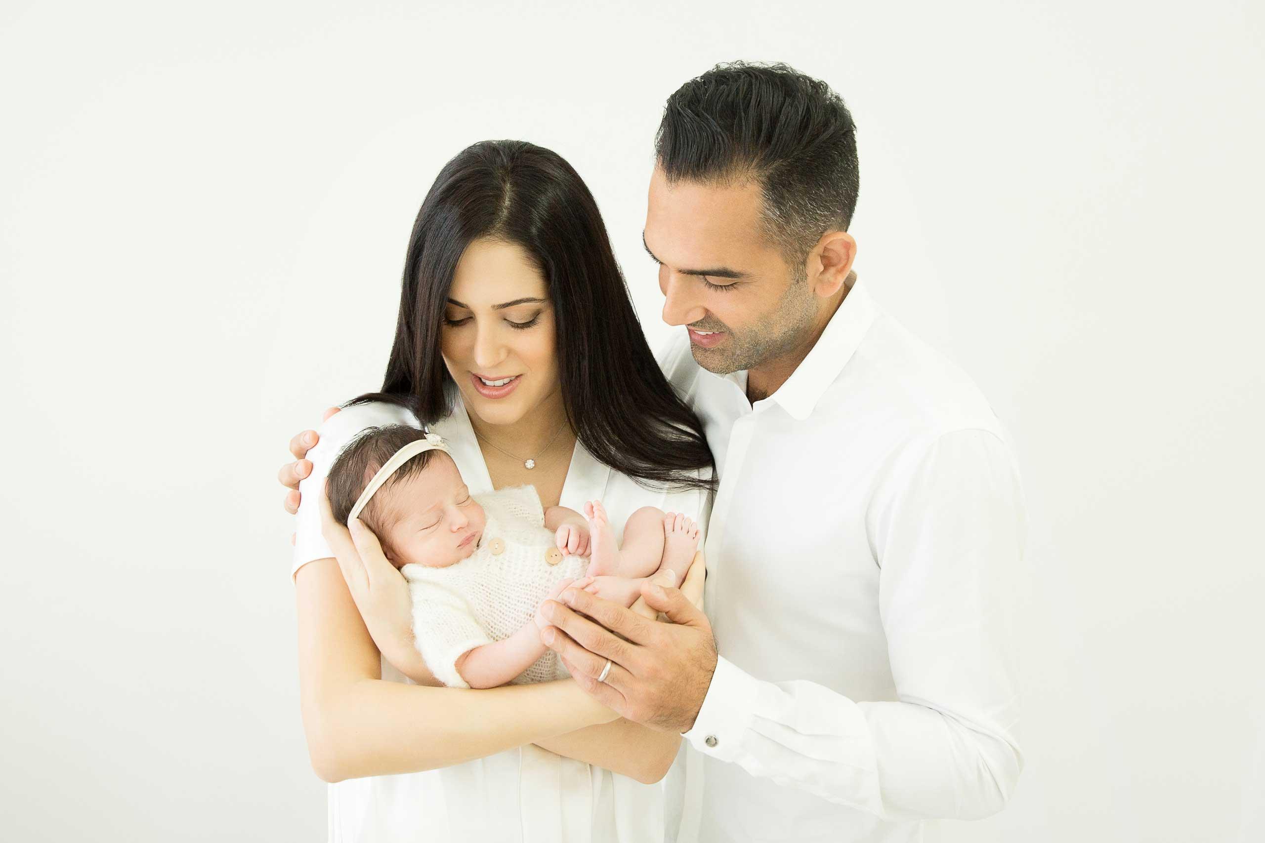 Newborn Baby Family Photography Los Angeles Ramina Magid