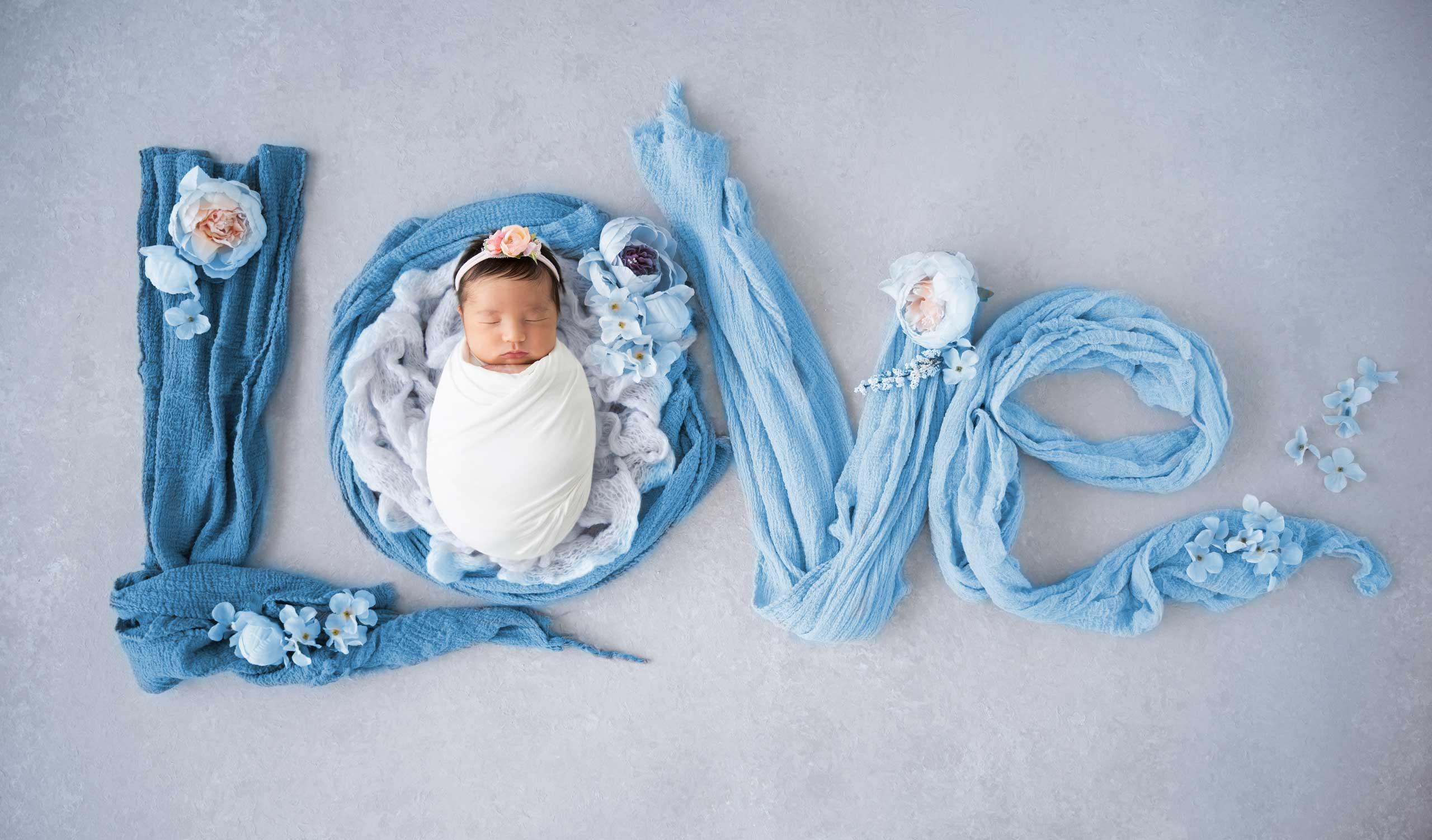 Newborn baby photoshoot los angeles ramina magid