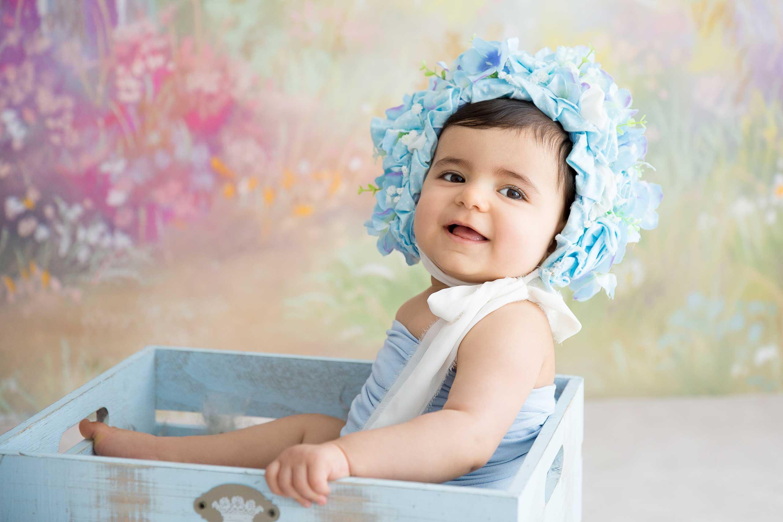 Newborn baby photosession los angeles ramina magid