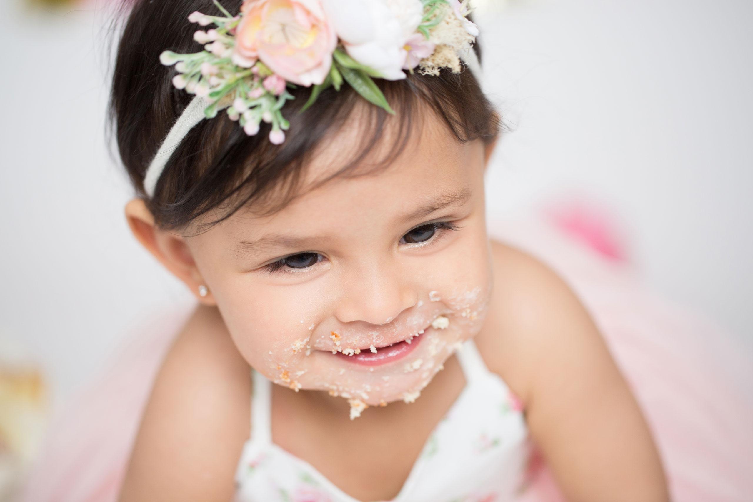 ramina magid baby cake smash first birthday photography los angeles