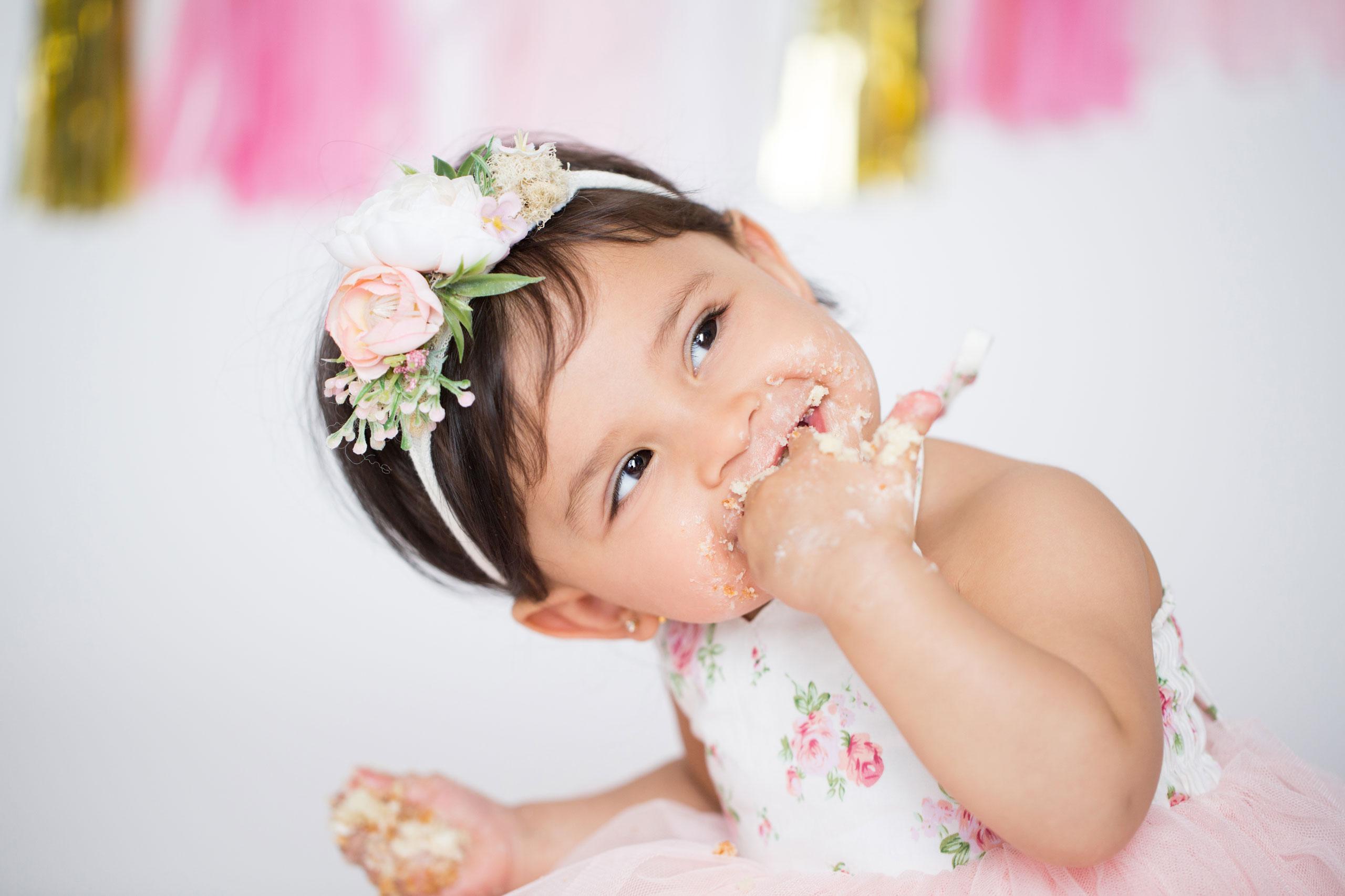 ramina magid baby cake smash photography los angeles