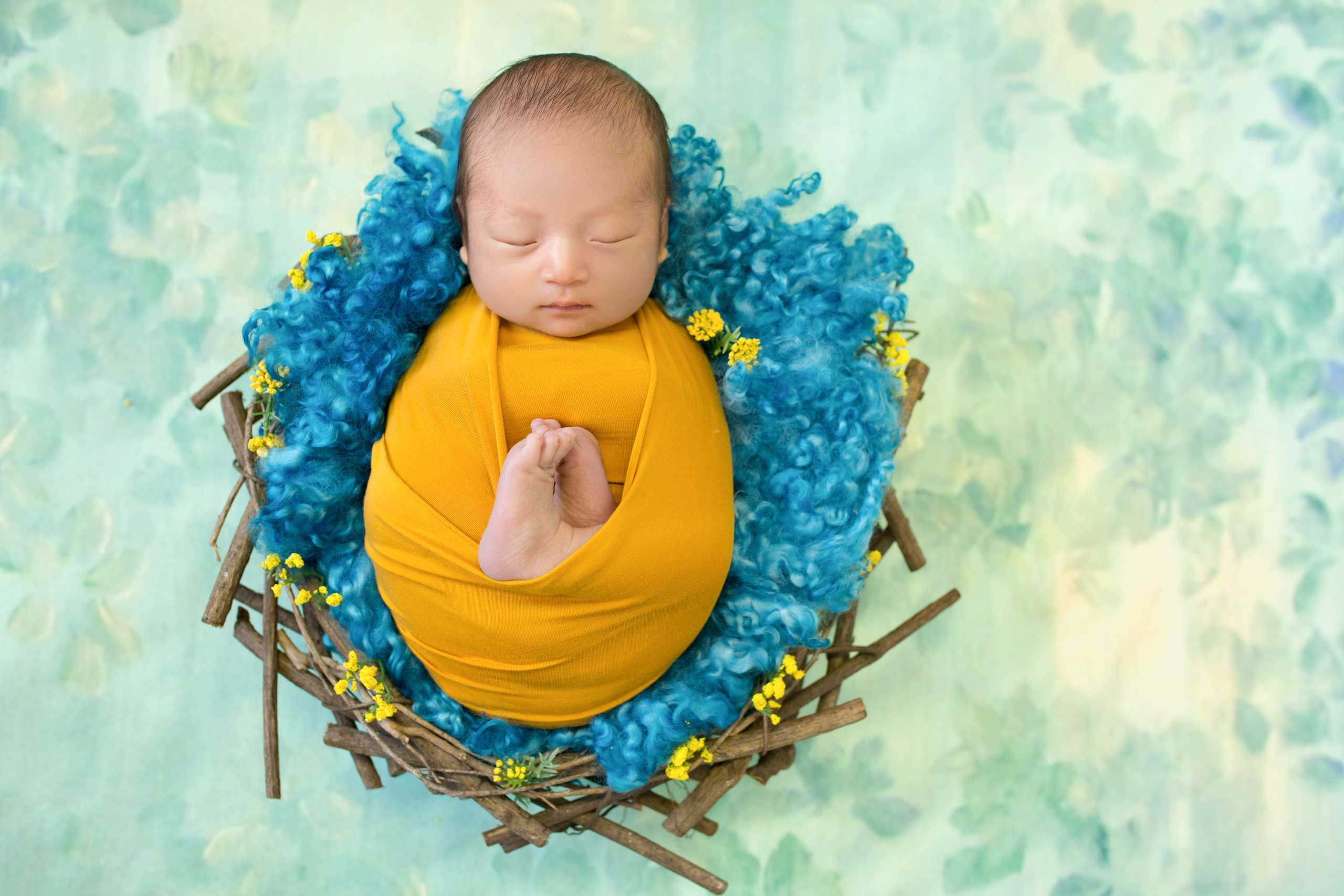 baby photograph taken in Los Angeles by Ramina Magid Photography