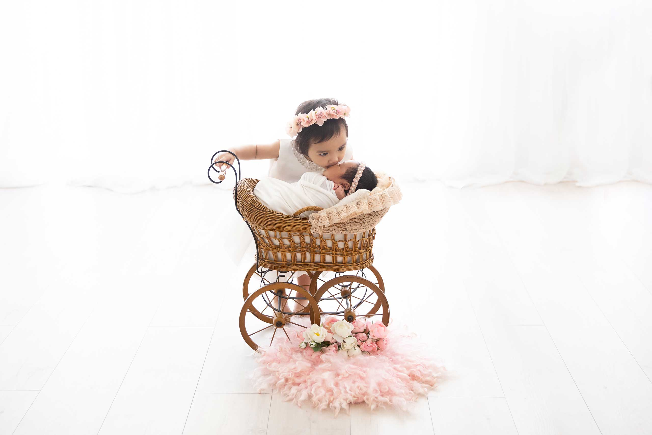 baby newborn photograph taken in Los Angeles by Ramina Magid Photography