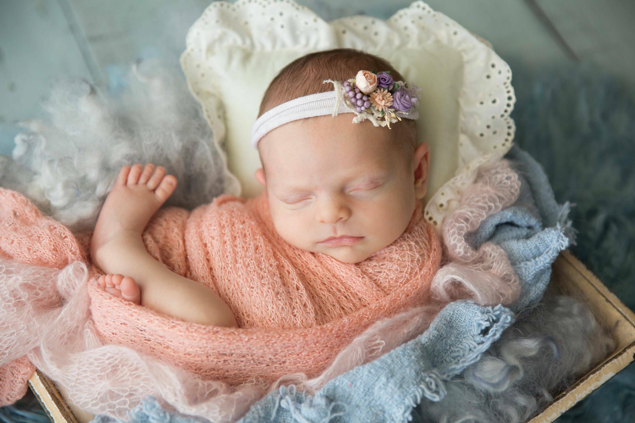los angeles babygirl photography newborn