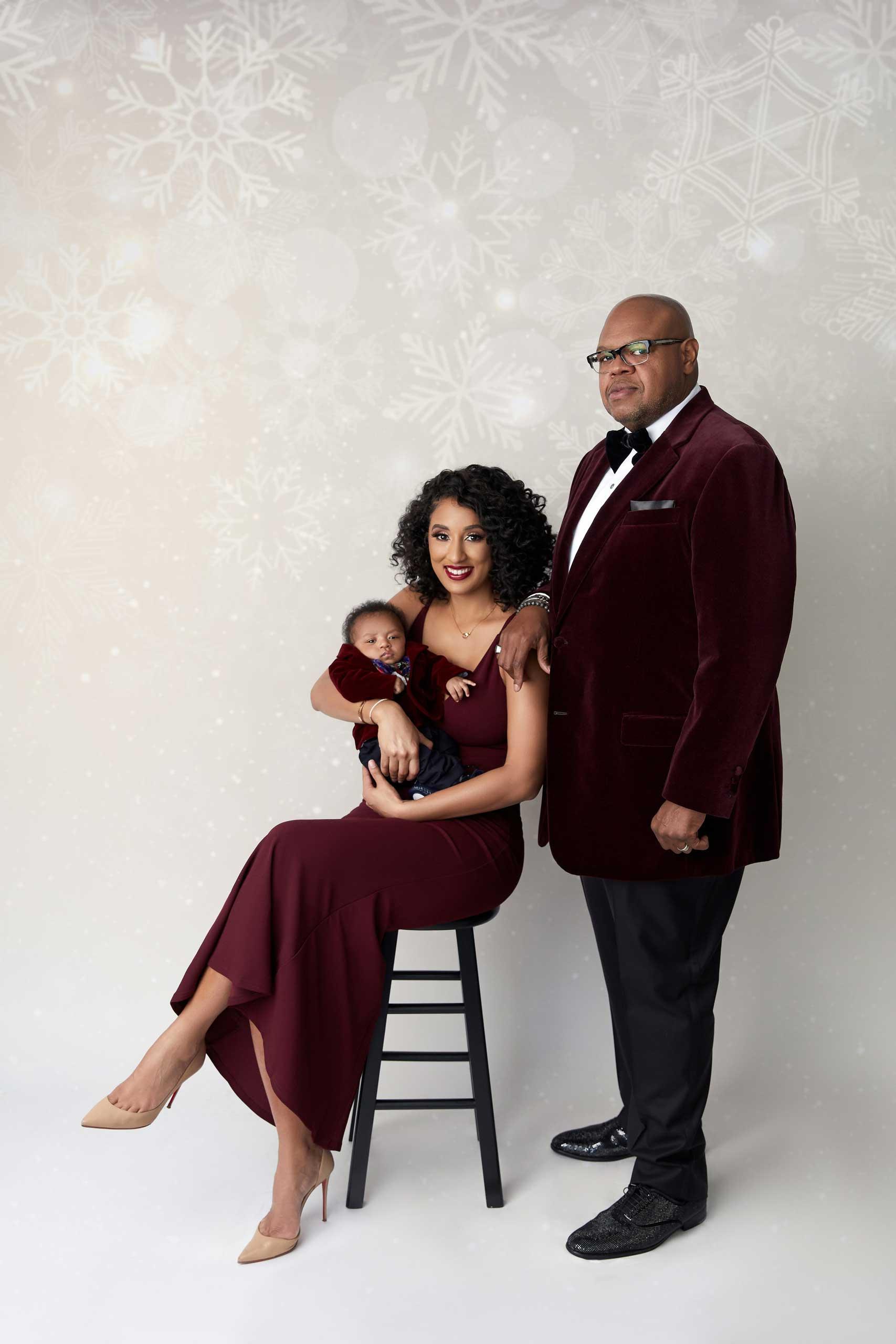 Family photoshoot in Los Angeles by Ramina Magid