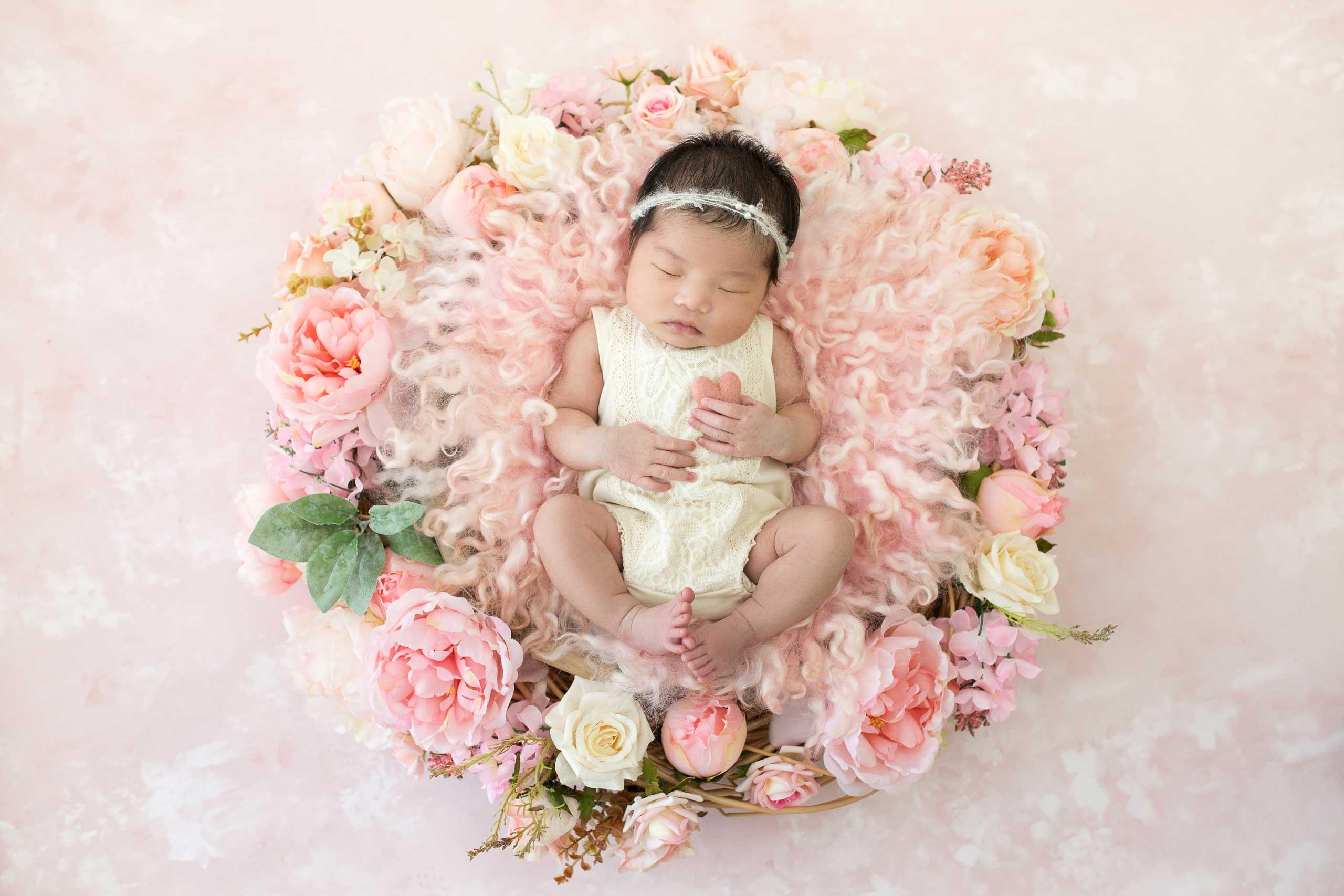 Ramina Magid Newborn Baby Photoshoot Los Angeles 29 1