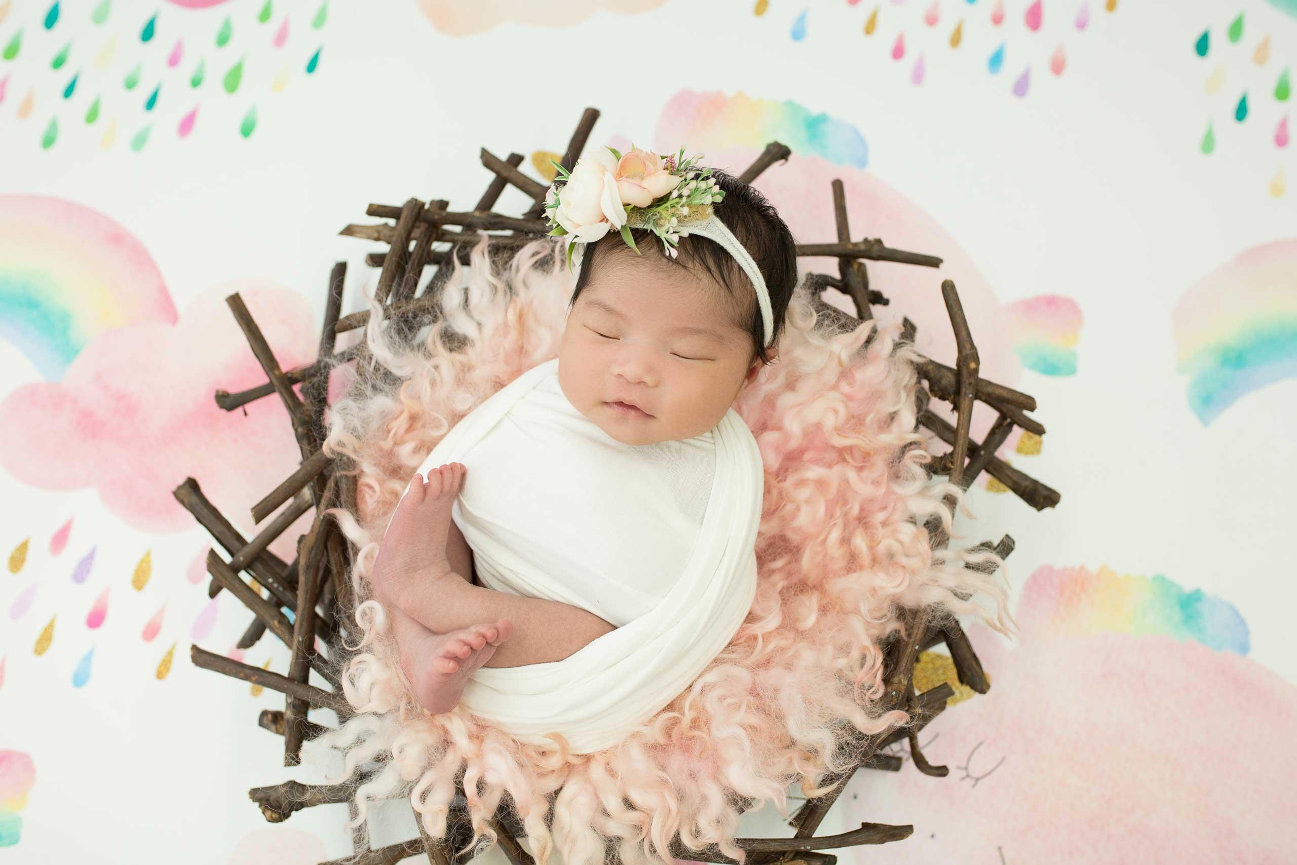Ramina Magid Newborn Baby Photoshoot Los Angeles 2920